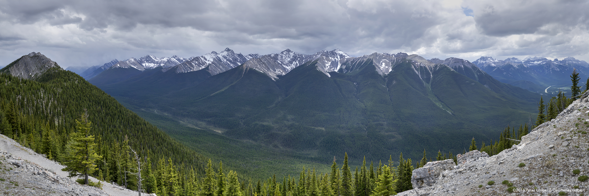 View from Sulphur Mountain 1
