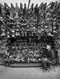 Shoes for sale, Chichicastenango