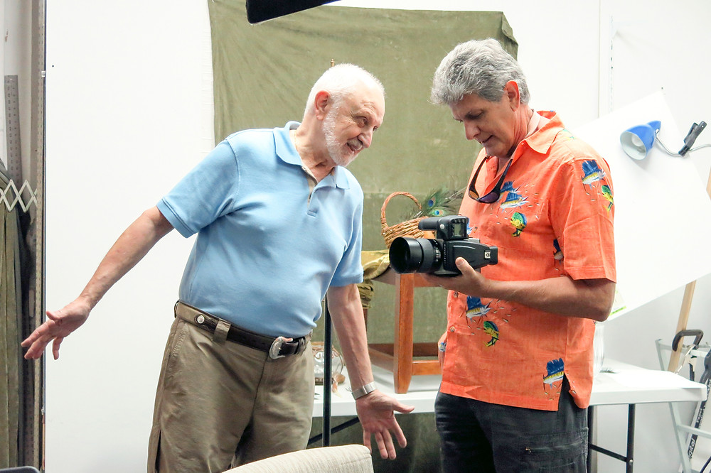 Hasselblad H5d-50C Hands-On Event held at Custom Photo Images, Boca Raton, Florida with Peter Lorber and Courtenay Gilbert.