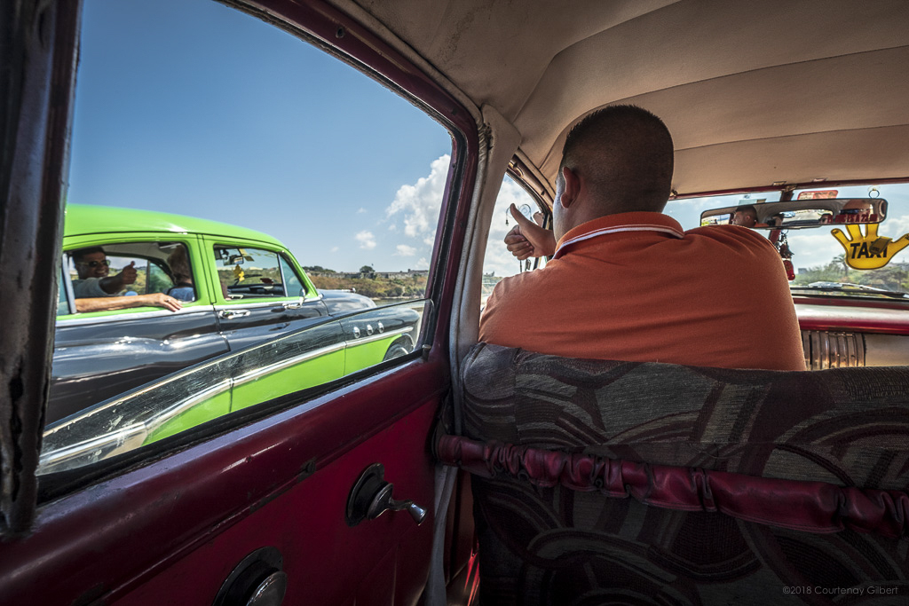 Cuban Taxi Drivers