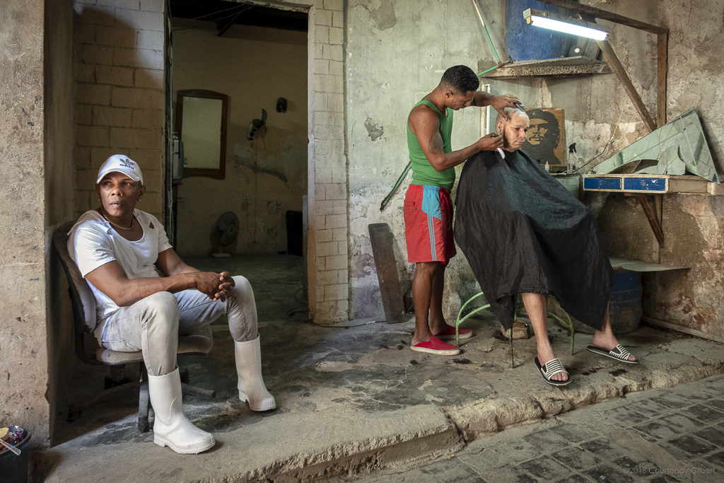 Barber, Havana, Cuba