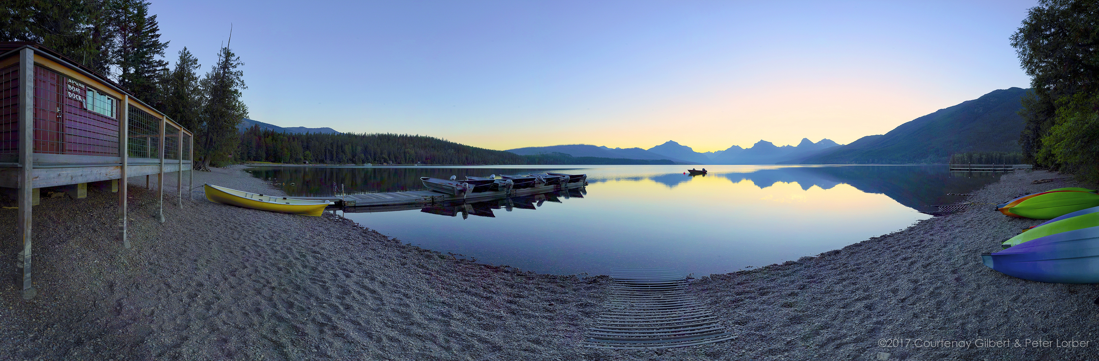 Lake McDonald Sunrise-2