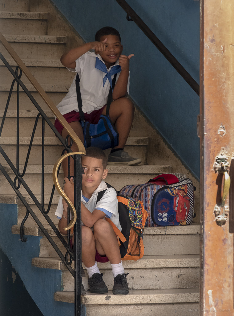 Cuban School Children, Havana