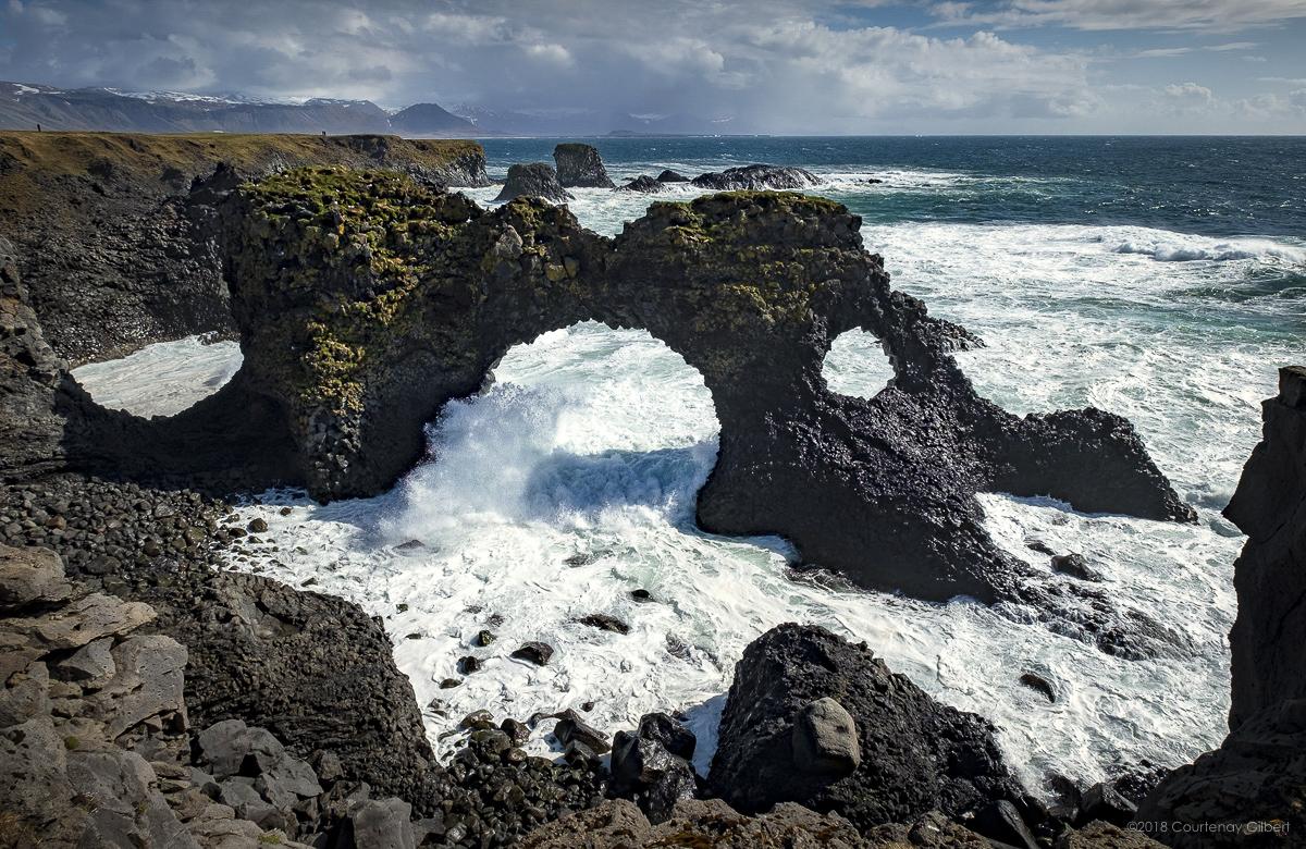 Sea arch, Arnarstapi, Iceland