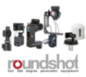 Roundshot panoramic photography equipment