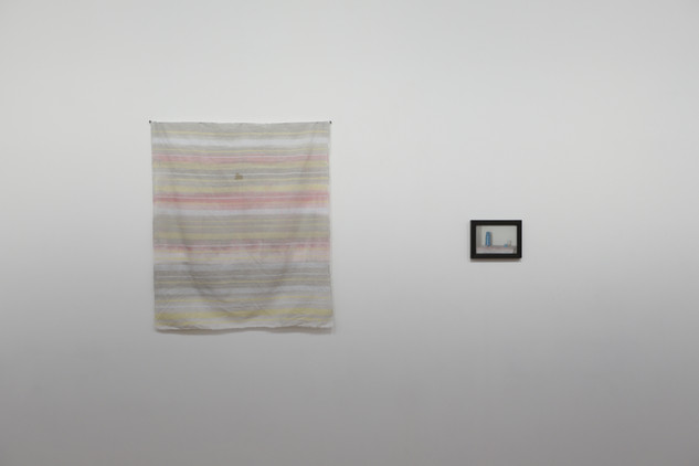 Lee Kit, Still Life: Hand-Painted Cloth Used as Tablecloth (2019-2020)