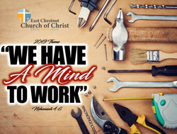 We Have A Mind To Work 2019 Theme