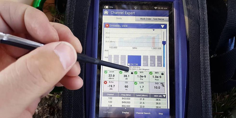 Troubleshooting Customer Installation Using RF SLM Meters