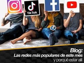 Redes sociales más populares y porqué estar allí