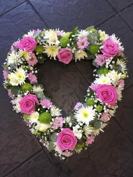 Open Funeral Heart