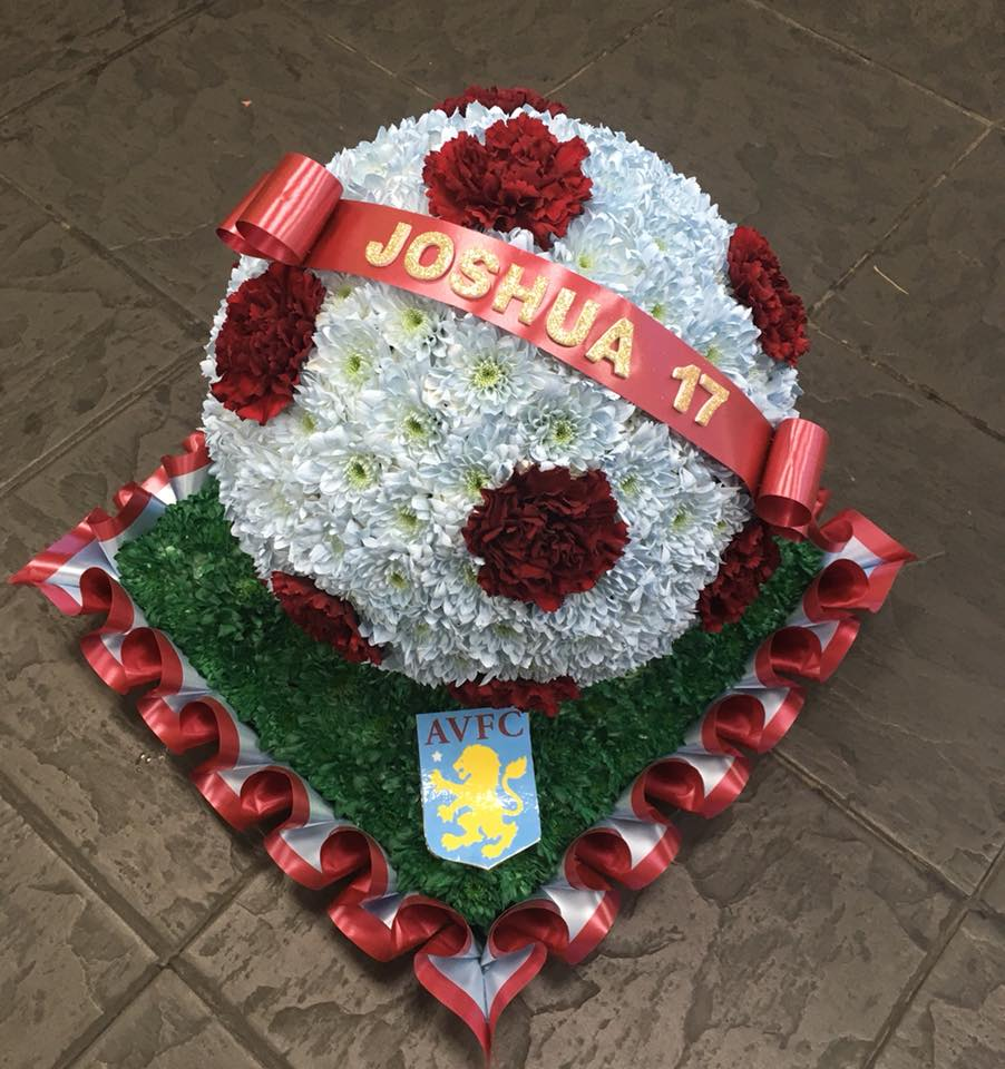 Aston Villa Football Funeral Tribute