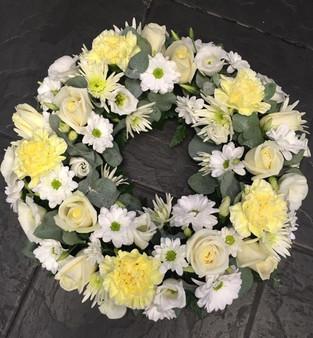 Funeral Wreath Arrangement