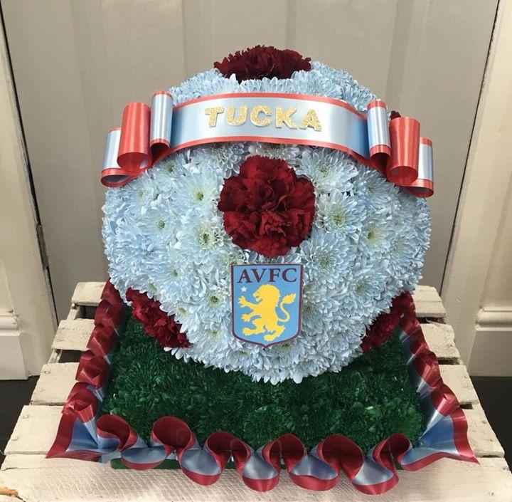 Aston Villa Football Funeral Arrangement