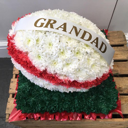 Rugby Funeral Tribute
