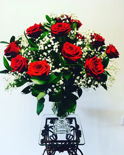 Red Roses for anniversary
