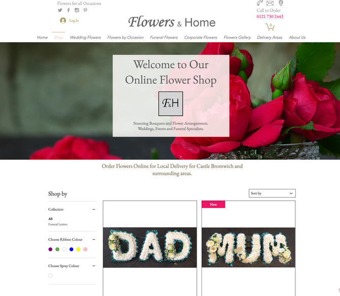 Our Shop is Live - Buy Funeral Letters Online