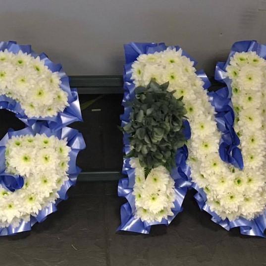 BIG NAN Funeral FLowers