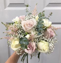 Plush Pink Brides Flowers