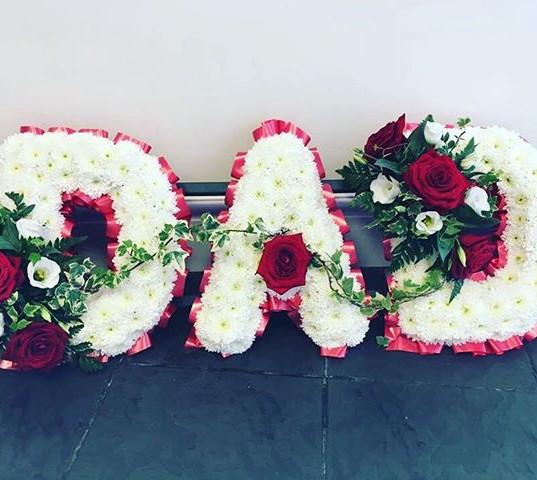 #Dad #funeralflowers #florists #flowers