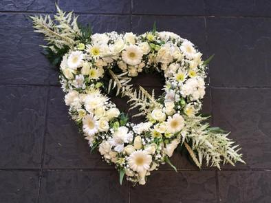 open heart funeral tribute