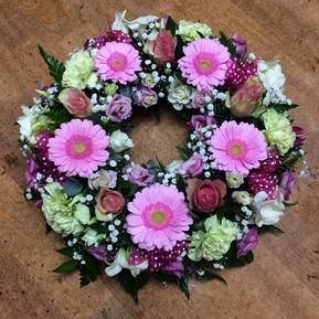 Purple Wreath Ring