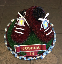 Aston Villa Football Funeral Tribute