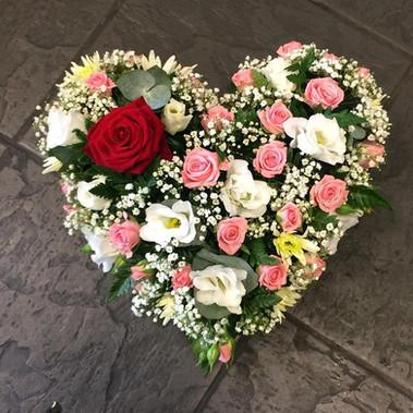 Sympathy Heart Wreath