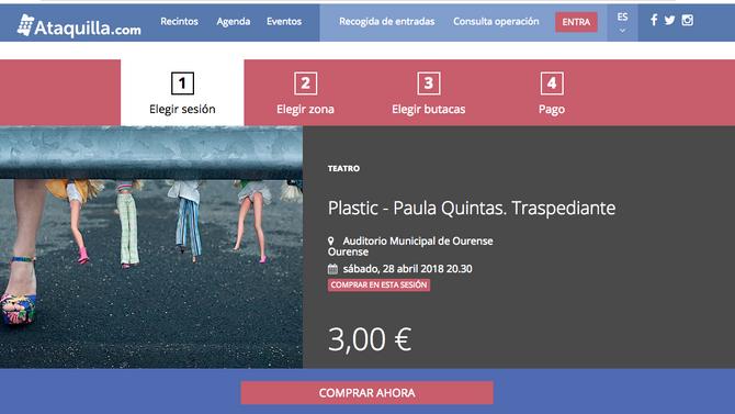Consigue a túa entrada para PLASTIC!