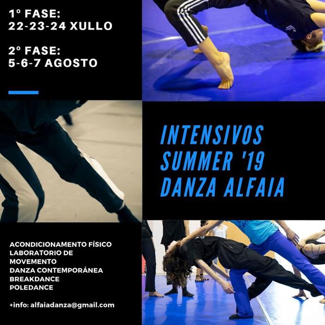 SUMMER INTENSIVE '19- DANZA ALFAIA