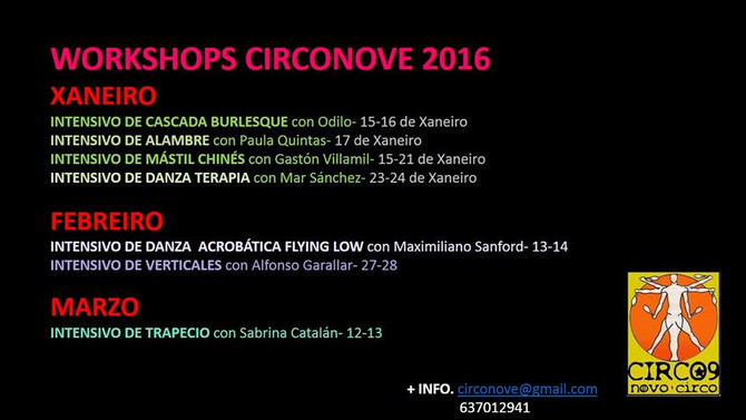Workshops circonove 2016