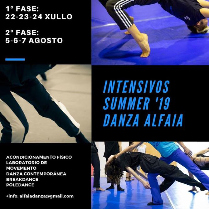 INTENSIVE SUMMER '19 DANZA ALFAIA