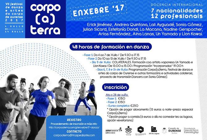 ENXEBRE '17: 48 horas de formación en danza/48 hours of dance training
