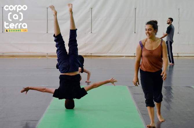 ENXEBRE´17 Danza / Corpo(a)terra , Ourense. INSCRIPTIONS OPEN 20/03