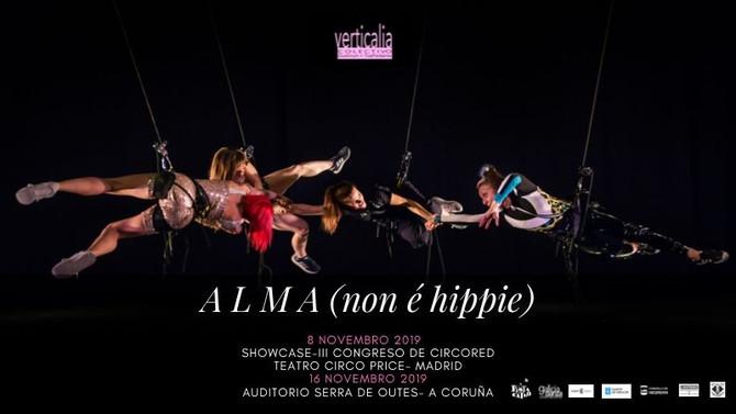 PRÓXIMA XIRA de Alma(non é hippie)/ NEXT TOUR 2019