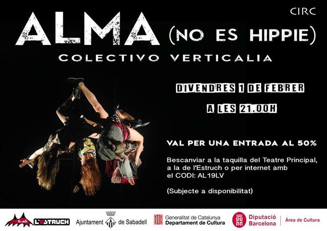 Colectivo Verticalia (cias. Duelirium + trasPediante) *Residencia con ALMA (non é hippie)