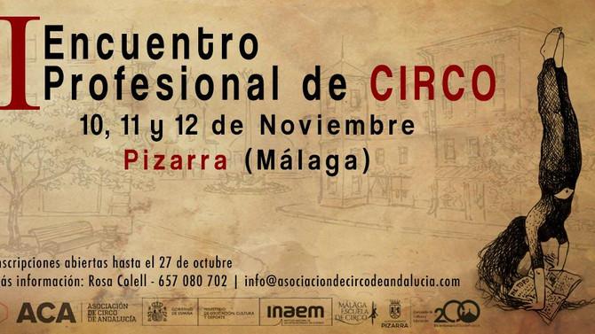 Estreno de nuevo trabajo_ I encuentro profesional de Circo- MÁLAGA. DANZA-CIRCO.
