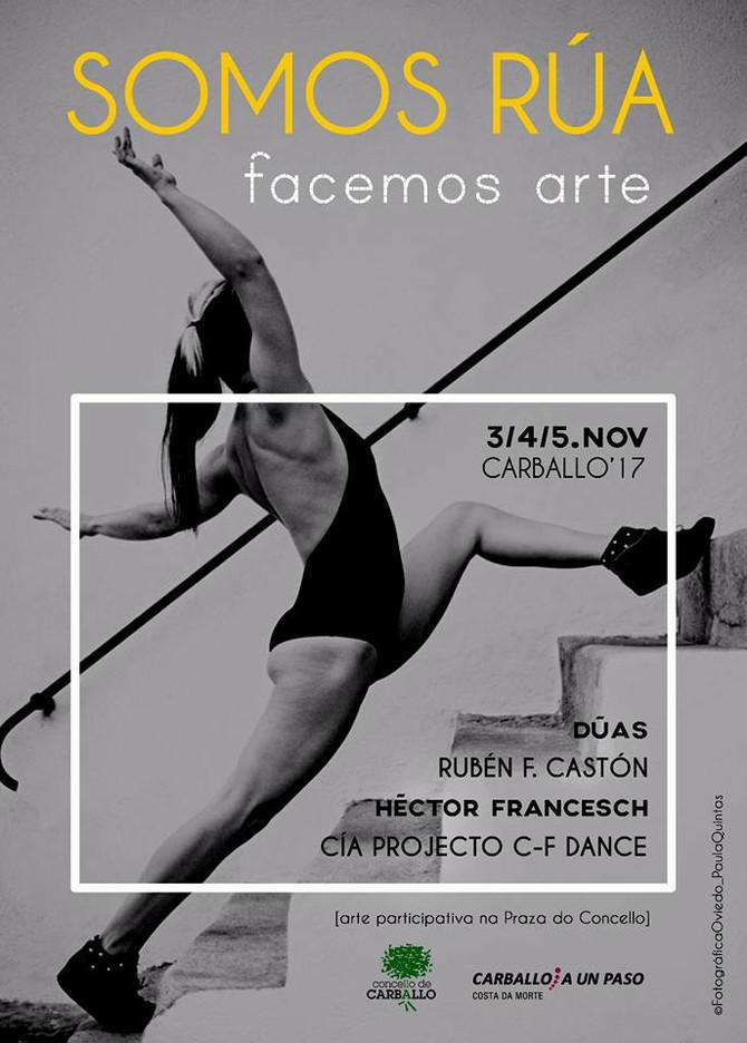 DIALOGOS DE INTENTO- de Cía Projecto C-F Dance en SOMOS RÚA- Carballo-A Coruña.