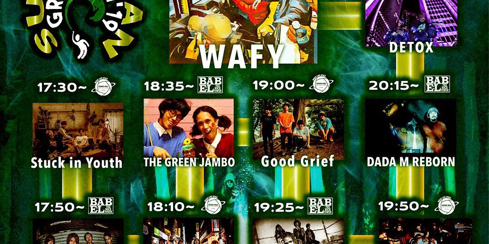 WAFY presents [SUBURBAN GREETING 2019] 〜WAFY 1st Single ''Suburb'' Release Party!!〜 〜「SUBURBAN GREETING TOUR」初日〜