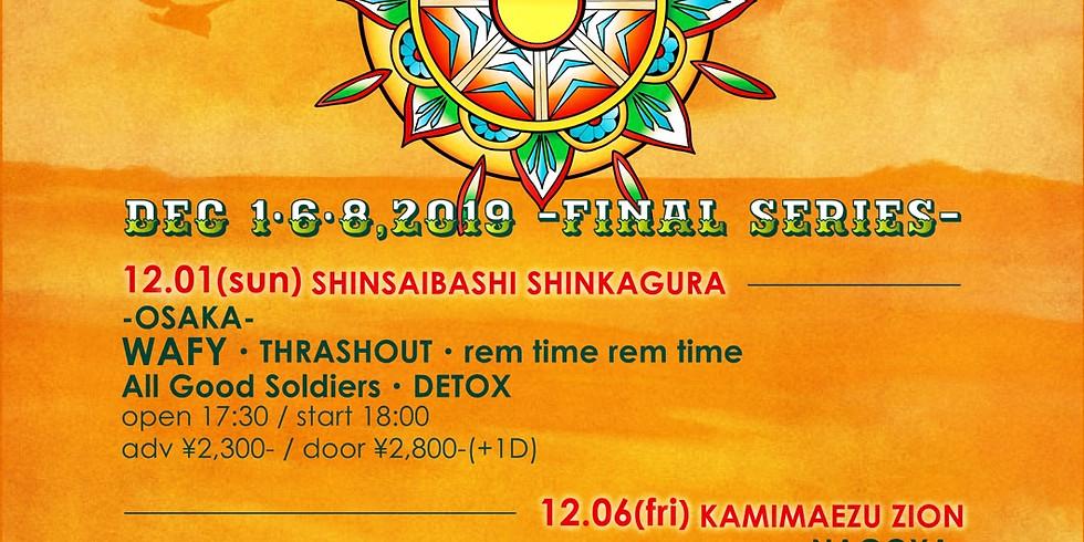 "WAFY""SUBURBAN GREETING TOUR 2019"" FIMAL@横浜編"