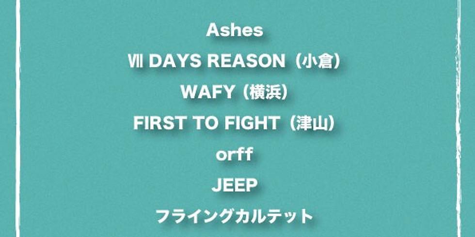 "WAFY""SUBURBAN GREETING TOUR 2019"" @広島編"