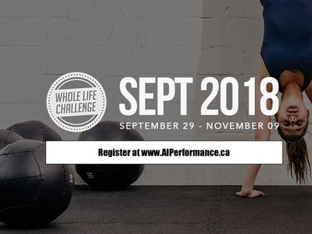 The AI Whole Life Challenge Kicks Off On September 29