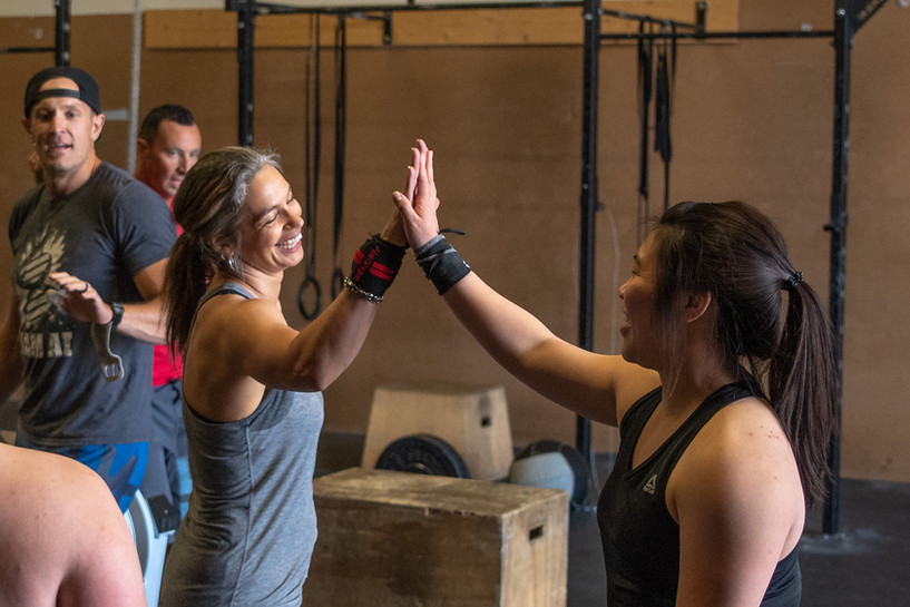 CrossFit Calgary Positivity and Encouragement