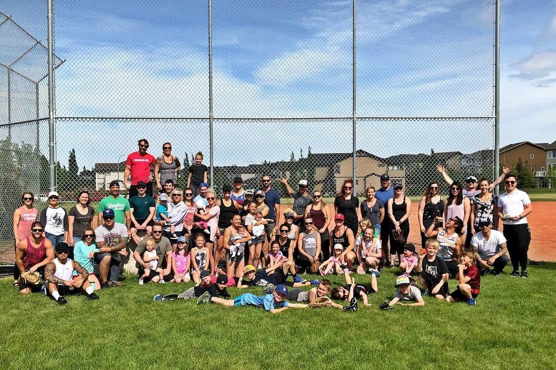 2018 Summer BBQ, Football, and Softball