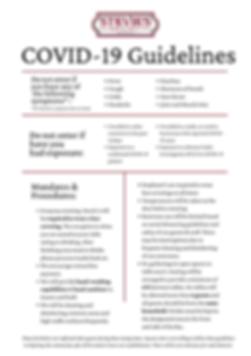Pink 7 Step Prevention Coronavirus Aware