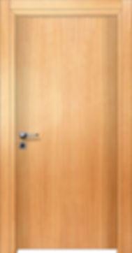 Πόρτα με επιφάνεια ξύλου ανεγκρέ
