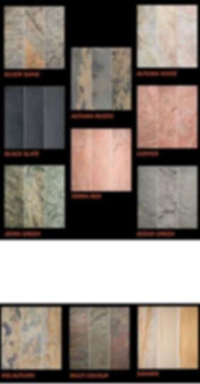 Stone veneer types