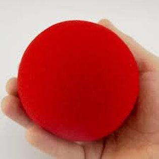 """4"""" Regular Red Sponge Ball"""