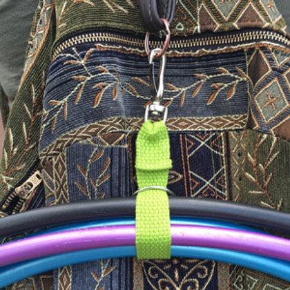 """Hoop Loop- 10"""" Ring & Clasp"""