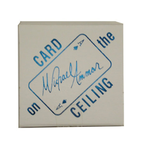 Card on the Ceiling Box By Michael Ammar