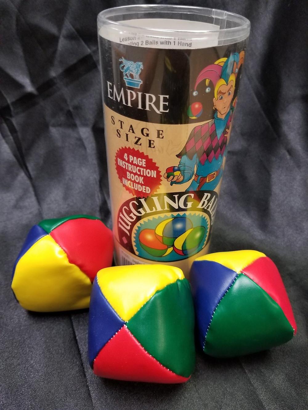 Beginners Juggling Balls